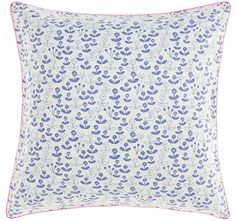 Valley European Pillowcase Blue - Kids | Manchester Warehouse