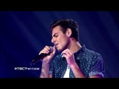 MBC The Voice - عمر دين - All Of Me - مرحلة الصوت وبس - YouTube