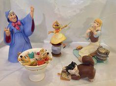 WDCC Lot of Five Cinderella Porcelain by CleosPlaceandDecor
