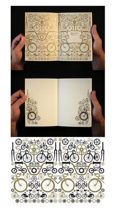 Gregory Klein put together a bike journal that's pretty sweet.