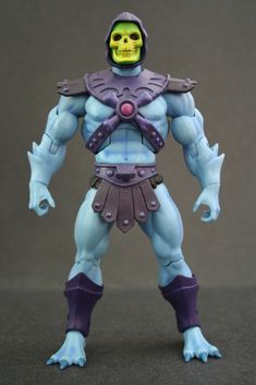 Masters Of The Universe Classics - these action figures are a modern rendition of the classic He-Man action figures from the '80s. I remember having quite an impressive collection of the original line as a kid - Plastic nostalgia at its finest!  Skeletor!