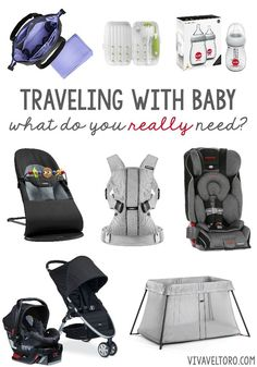 Traveling with your baby soon? This list can give you an idea of the best gear for travel!