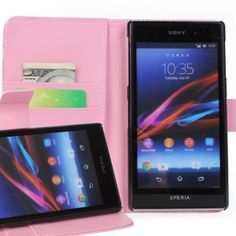 New Case - Sony Xperia Z1 Pink Leather Wallet Case Cover L39H, $14.95 (http://www.newcase.com.au/sony-xperia-z1-pink-leather-wallet-case-cover-l39h/)