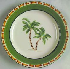 Palm Tree Dinnerware Patterns | ... pattern item 243110 manufacturer status discontinued pattern palm tree