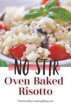 Oven Baked Risotto: Forget Stirring with Easy Oven Risotto Recipe