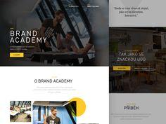 Brand Academy Homepage