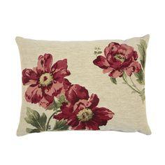 Peony Tapestry Cushion at Laura Ashley
