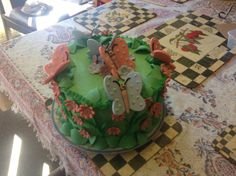 Butterfly cake for the twins