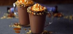 Snickers Hot Chocolate