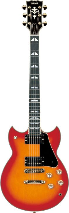 One of the first Japanese models to win the respect of Western players, the Yamaha SG2000 is essentially a double-cutaway Les Paul with a through-neck. #yamahaguitars