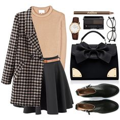 Outfit uploaded by BabyCakes on We Heart It Classy Outfits, Vintage Outfits, Casual Outfits, Vintage Fashion, Mode Outfits, Fashion Outfits, Womens Fashion, Fall Winter Outfits, Autumn Winter Fashion
