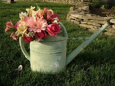Fun idea for a garden flower swap.  Plus beautiful pictures of her farm life.