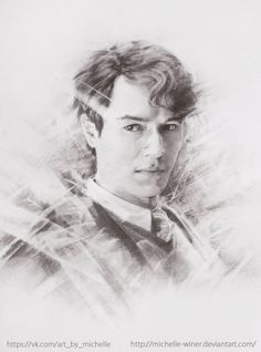 Tom Riddle Drawings by Michelle Winer