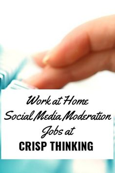 Become a Social Media Moderator at Crisp Thinking Home Based Jobs, Work From Home Companies, Work From Home Business, Work From Home Moms, Business Ideas, Way To Make Money, Make Money Online, Proposal Writing, List Of Jobs