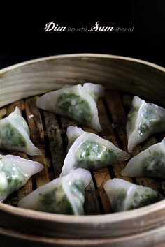Shrimp and Spinach Dumplings (Dim Sum)