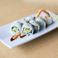 The 9 Most Popular Sushi Rolls - shrimp tempura roll   http://naperville.shintoexperience.com/