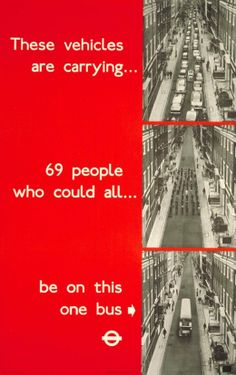 Awesome infographic example from 1969 ad for the Underground