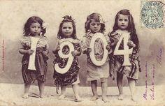 calendar 1904 children vintage #vintage #children #kids