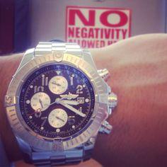 Breitling Super Avenger + No Negativity!