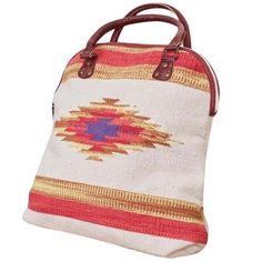 Southern Girl Fashion Bags - BOHEMIAN BAG Canvas Ethnic Patterned Large Book