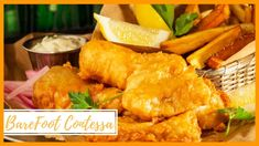 Barefoot Contessa - Fish & Chips - Ina Garten Easy Recipes - YouTube Cod Recipes, Fish Recipes, Seafood Recipes, Party Recipes, Seafood Dinner, Fish And Seafood, Weeknight Meals, Easy Meals, Fish Batter Recipe
