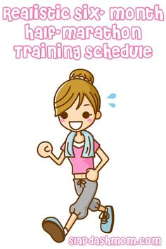 6 Month Half Marathon Training Schedule... I probably can't start this until after vet school is all said and done, but it's on my list of things to do