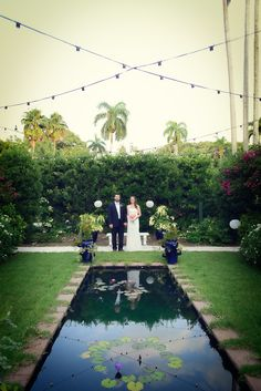 Beautiful wedding at the Edison & Ford Winter Estates.