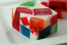 How to make Broken Glass Jello.