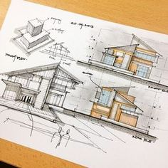 Interesting Find A Career In Architecture Ideas. Admirable Find A Career In Architecture Ideas. Architecture Design, Architecture Concept Drawings, Architecture Sketchbook, Landscape Architecture, Interior Design Sketches, Sketch Design, Building Sketch, Building Design, Mario