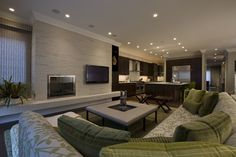 Tv offset...not over the fp Michael Abrams Limited's Design, Pictures, Remodel, Decor and Ideas - page 18