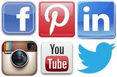 Resultado de imagem para social media icons