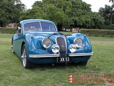Jaguar XK120 FHC I would look cute in this one, until I wrecked it. lol