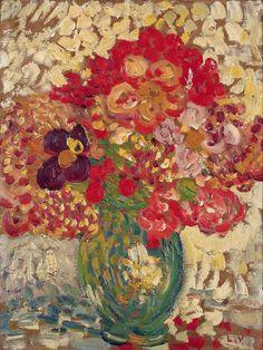 Little Bouquet in Green Pot 1905 Louis Valtat