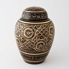 Radiance handcrafted & engraved memorial cremation urn