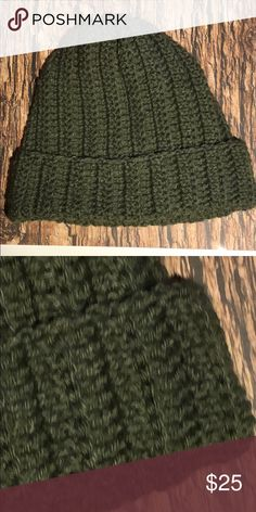 Winter beanie men / women hat olive green handmade Beanie hat Acrylic yarn Color Olive green Size inches adult Hand crochet in a smoke and pet free environment This item is made and ready to ship yarn hot off the hook Accessories Hats Women Hat, Hats For Women, Hand Crochet, Crochet Hats, Plus Fashion, Fashion Tips, Fashion Design, Fashion Trends, Yarn Colors