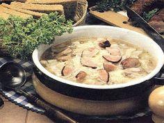 vcielkaisr-mojerecepty: Kapustová polievka s klobásou