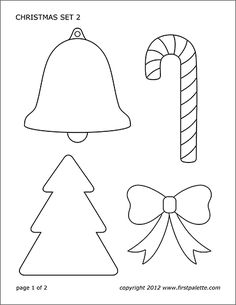Free printable poinsettia flower sets that include black-and-white pages to color as well as colored poinsettias to use for crafts and other Christmas or flower-themed activities. Christmas Crafts For Kids To Make, Christmas Card Crafts, Halloween Crafts For Kids, Christmas Bells, Christmas Activities, Felt Christmas, Christmas Projects, Handmade Christmas, Christmas Ornaments