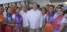 Con una inversión de 200 millones de pesos, el gobernador Javier Duarte de Ochoa y el secretario de Educación Pública, Emilio Chuayffet Chemor, inauguraron las instalaciones del Clúster Politécnico Veracruz, en Papantla.