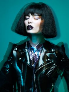 NAHA Finalist Master Hairstylist of the Year Allen Ruiz by  Yulia Gorbachenko #fashion #editorial #portrait