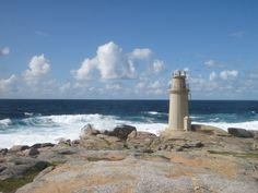 Spain, Galicia, A Coruña, Muxia Lighthouse