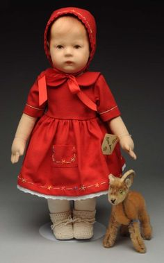 """Recent Issue Kathe Kruse """"Doll I"""". : Lot 76"""