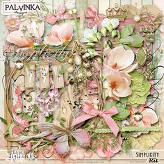 Simplicity Kit by Palvinka Designs | Digital Scrapbook @ at The Digichick