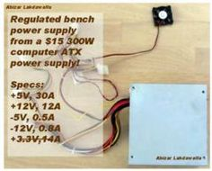 Convert a Computer ATX Power Supply to a Lab Power Supply - wikiHow