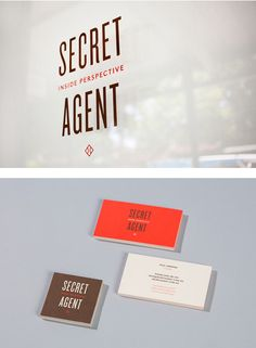 WEDDING PARTY || ASK // Typography secret agent identity