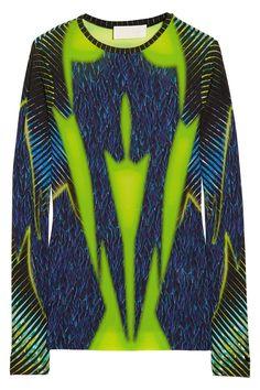 Peter Pilotto|LT printed crepe-jersey top|NET-A-PORTER.COM