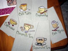 Embroidery Library Projects - Customer Machine Embroidery Design Showcase Page