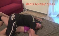 Viktoria in trouble at Angry Girls