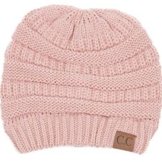 C.C. Exclusives Cable Knit Beanie in Indie Pink HAT-20A-INDIEPINK