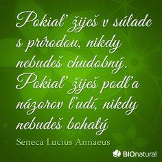 Citát o prírode od Senecu Herbs, Herb, Medicinal Plants