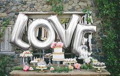 Love Letter 40 Inch 100cm Foil Wedding Balloons Silver Letters UK Seller   eBay